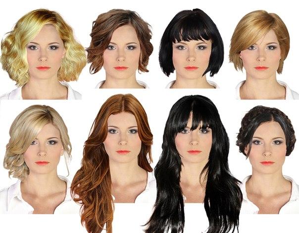 Фото причесок для удлиненной формы лица