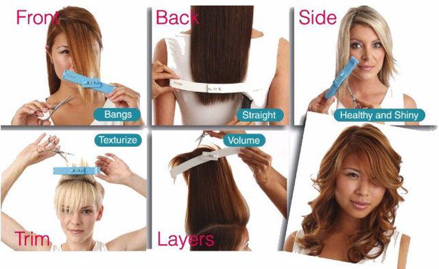 как в домашних условиях подстричь волосы