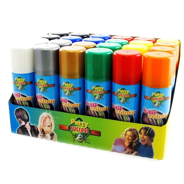 Спрей-краска – поразите ярким цветом волос всех окружающих
