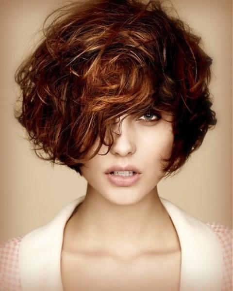 Стрижки для вьющихся пористых волос