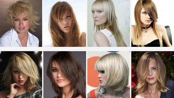Стрижки для объема на длинные волосы гармонично выглядит как с челкой, как и без нее. Главное условие – достаточная градуировка прядей