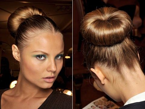как быстро и красиво собрать волосы