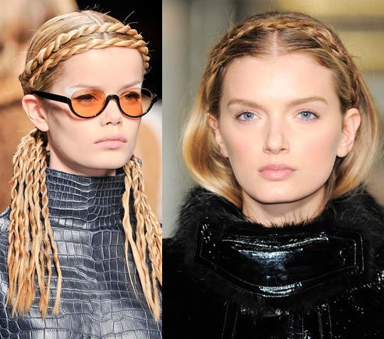 Существует множество вариантов создания ободка из волос