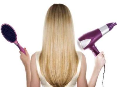 Сушка длинных волос феном не составляет труда