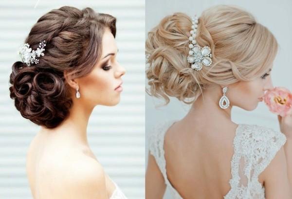 Свадебная прическа на средние волосы своими руками должна быть воплощением женственности и элегантности