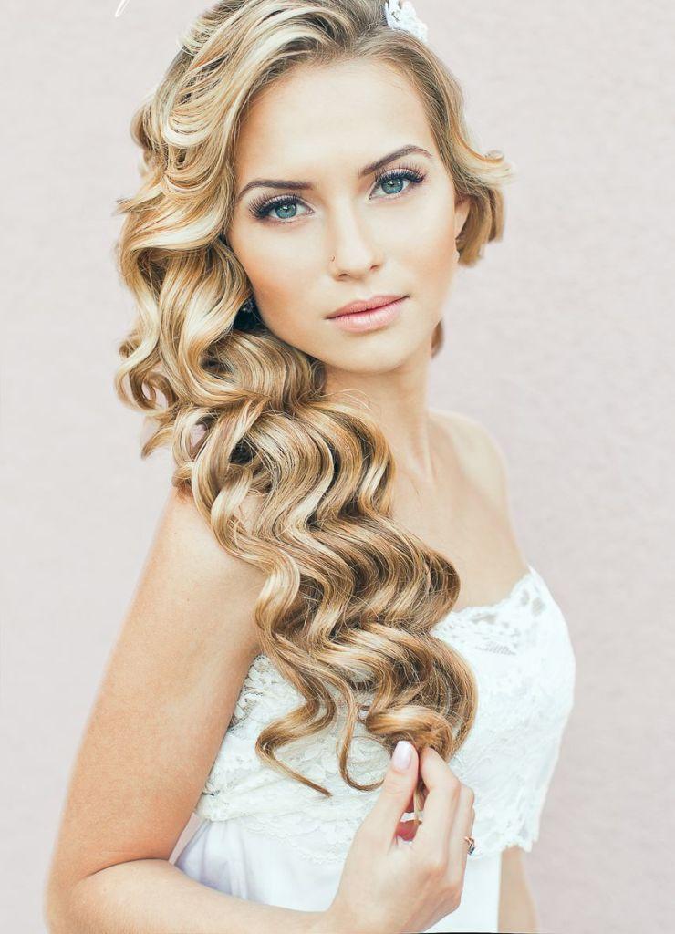 Прически для невесты на средние волосы (42 фото) и длинные: видео-инструкция как сделать своими руками, праздничные укладки для