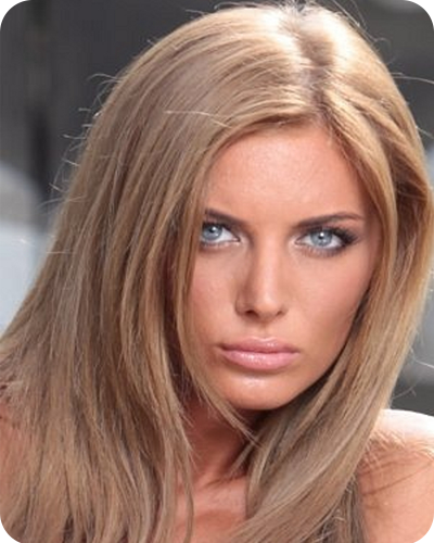 Светло русый цвет волос - фото и описание цвета