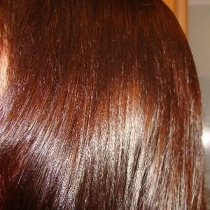 Цвет волос каштаново золотистый