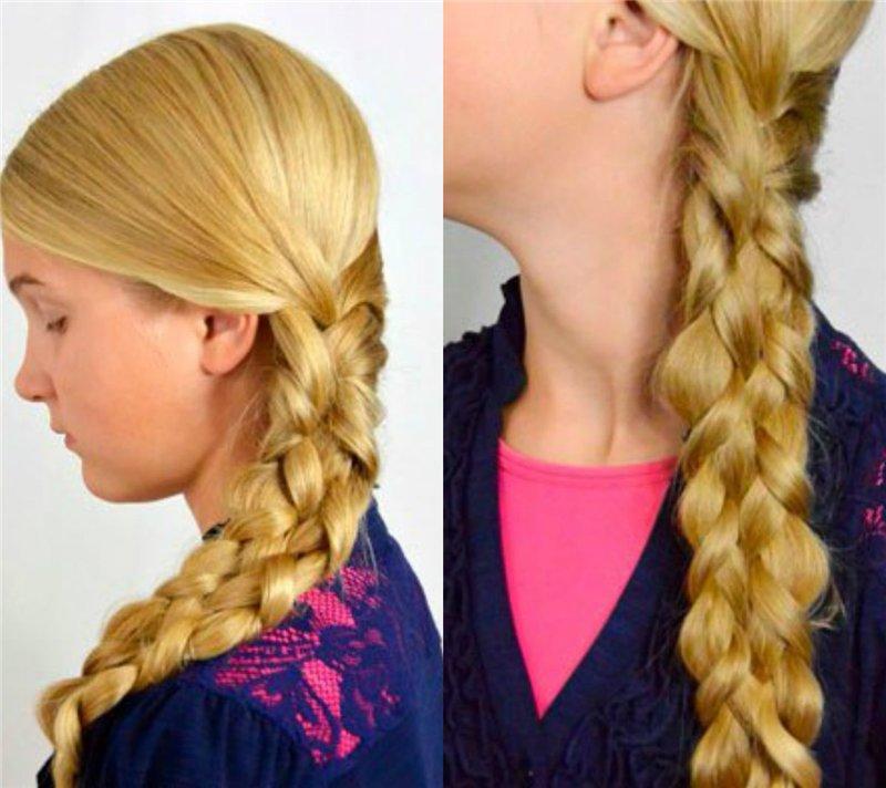 как уложить волосы на 1 сентября