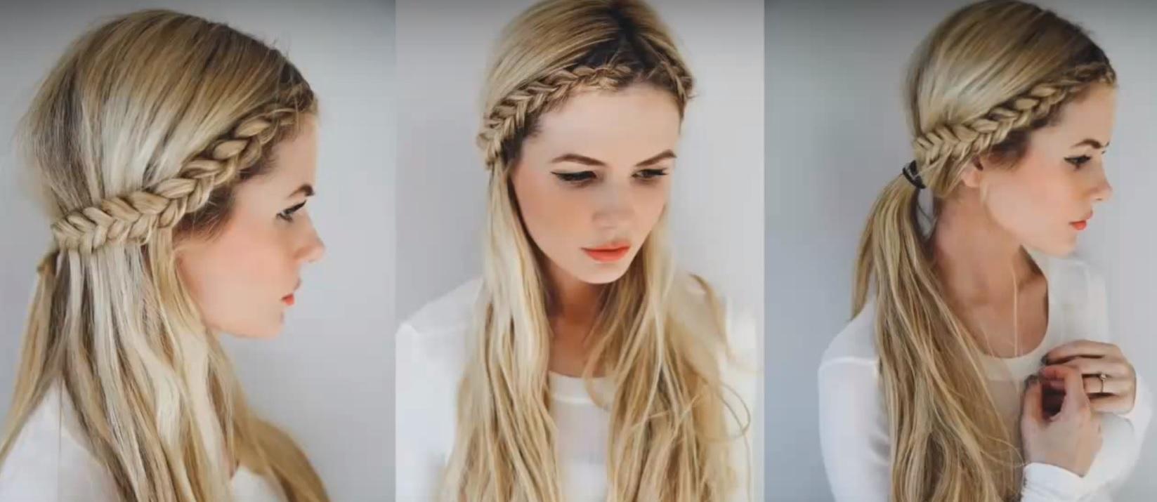 Прическа с распущенными волосами на 1 сентября фото