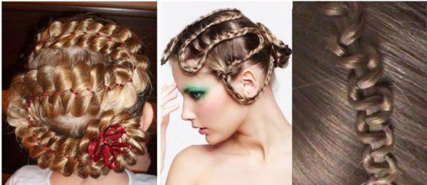 Такие косы вокруг головы понравятся и ребенку и девушке!