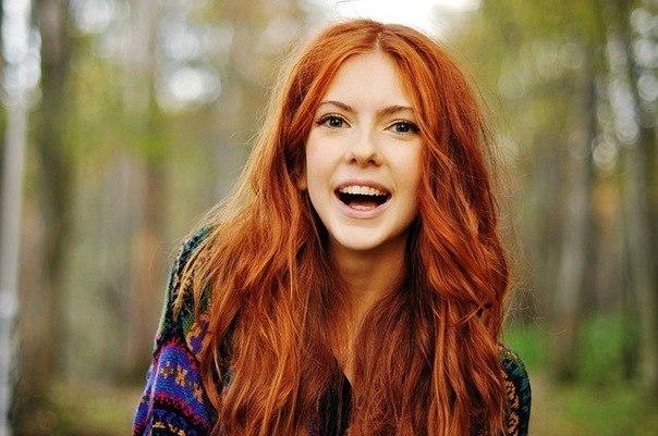 Натуральные рыжие волосы перекрасить