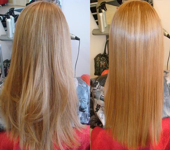 кератиновое восстановление волос в домашних условиях