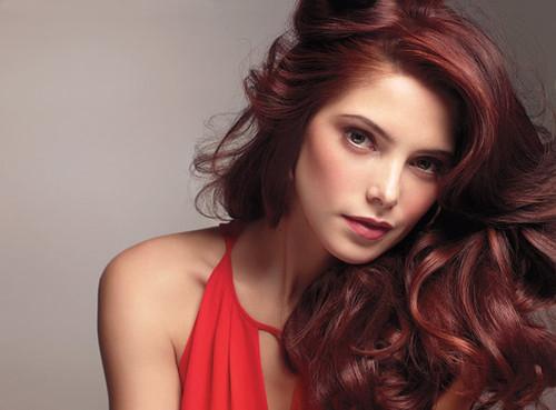 Цвет красное дерево волосы фото