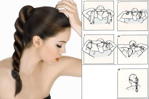 Цена парикмахерских услуг порой довольно высока, поэтому учимся делать прическу самостоятельно.