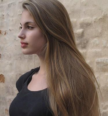 Фото темно-русых волос