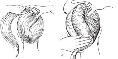 Укладка волос под основание жгута