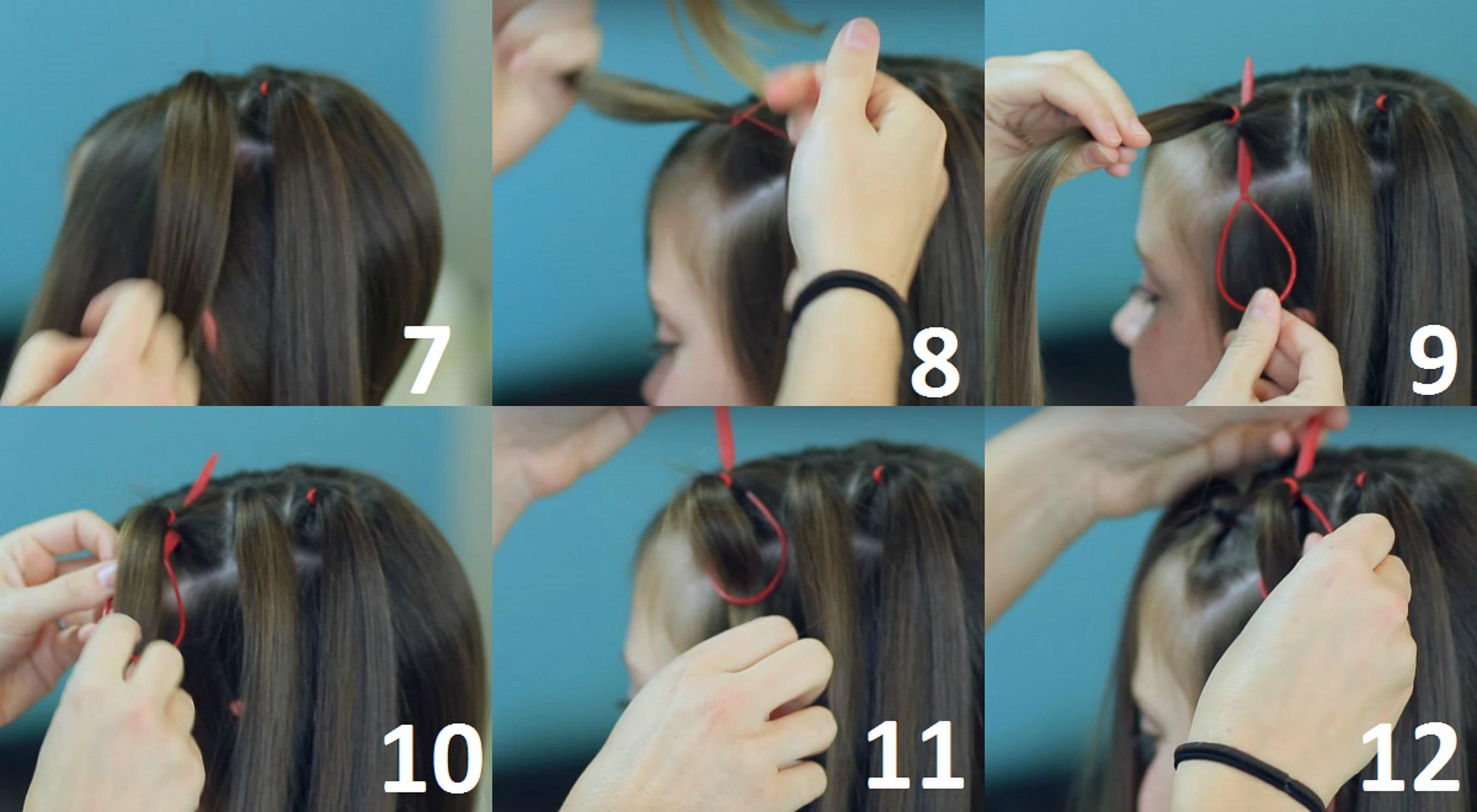 Петля для волос : 10 легких причесок с помощью петли (фото) 14
