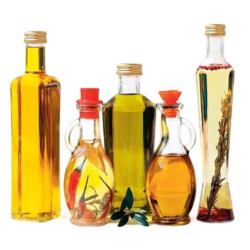 В растительных маслах в большом количестве содержатся разнообразные витамины