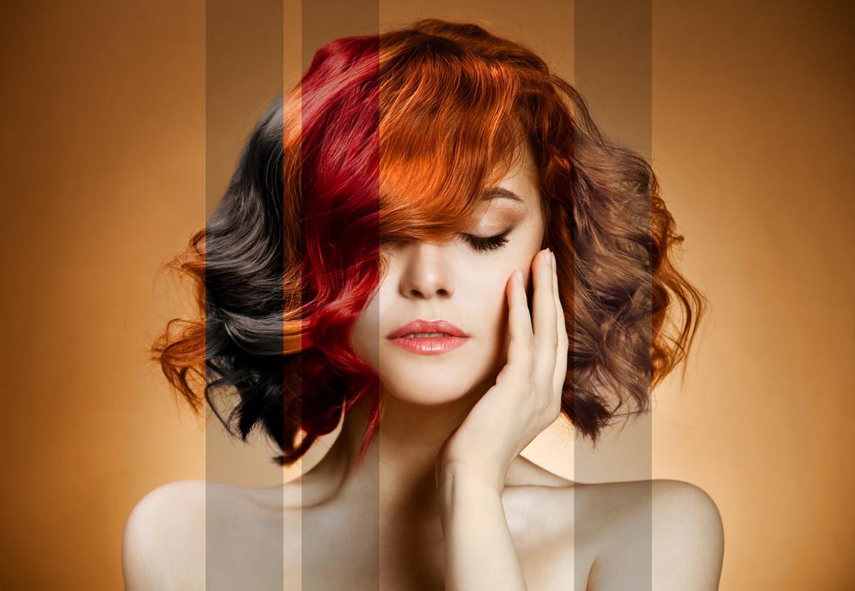Покраска волос благоприятна сегодня