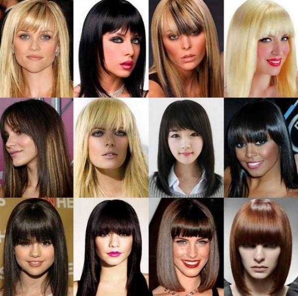 Варианты для разной длины и цвета волос
