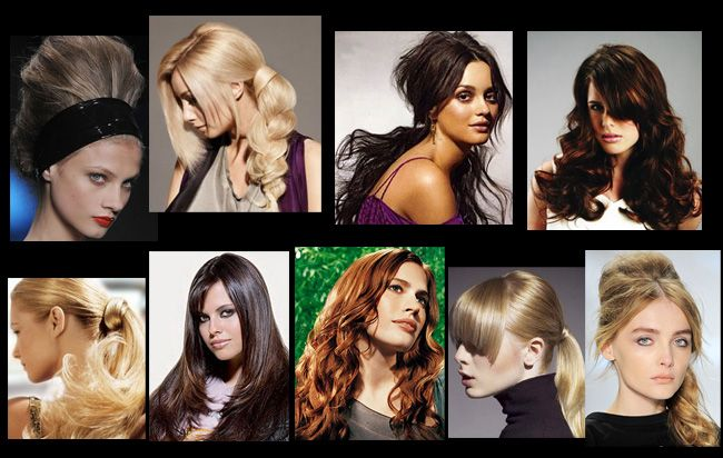 красивые и стильные прически на длиные волосы