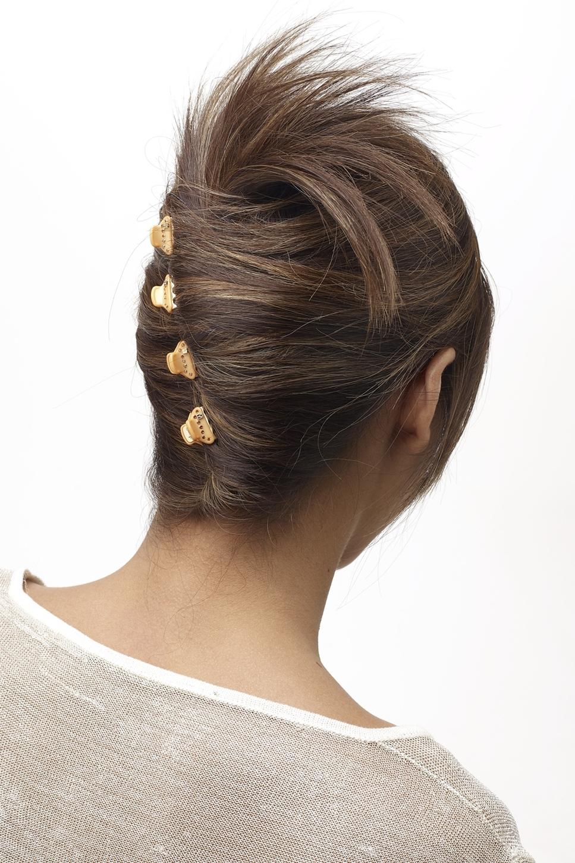 Как носить крабик для волос
