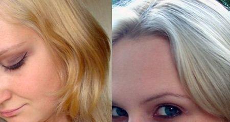 Как убрать желтый цвет с волос