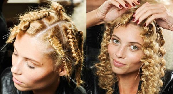 Волосы накрутить утюжком и шпильками можно и в домашних условиях, важно лишь соблюдение технологии