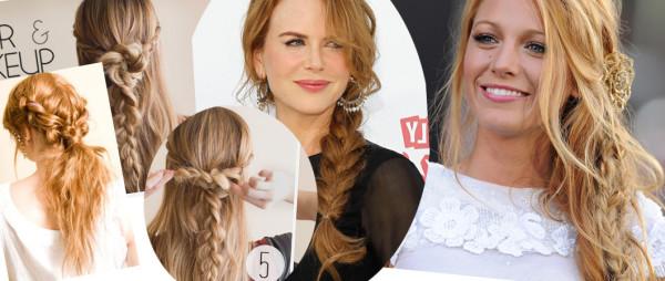 Вопрос, как красиво и просто заколоть волосы, справедливо можно назвать одним из наиболее популярных
