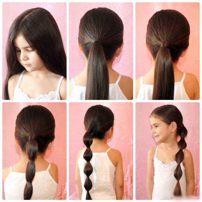 Как сделать красивые волосы в школу