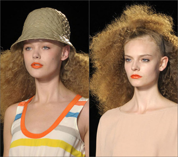 Вот таким представили кудрявое озорство стилисты модного дома Louis Vuitton