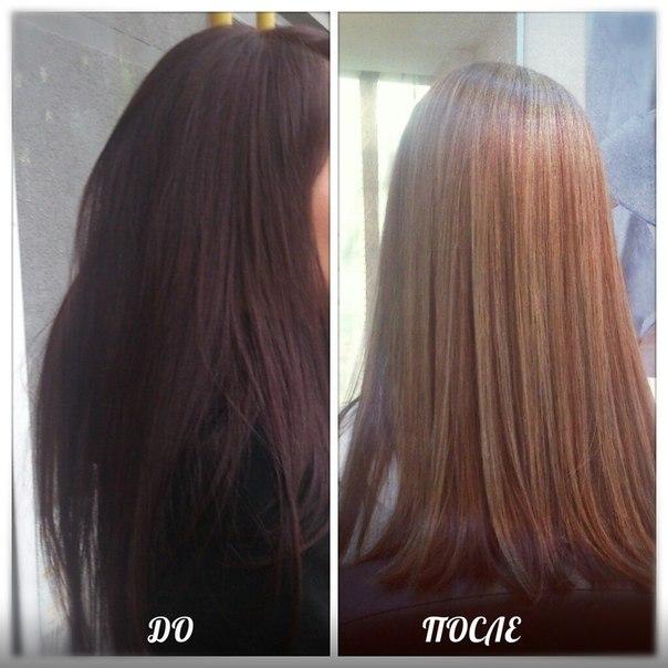 Маска медовая для осветления волос