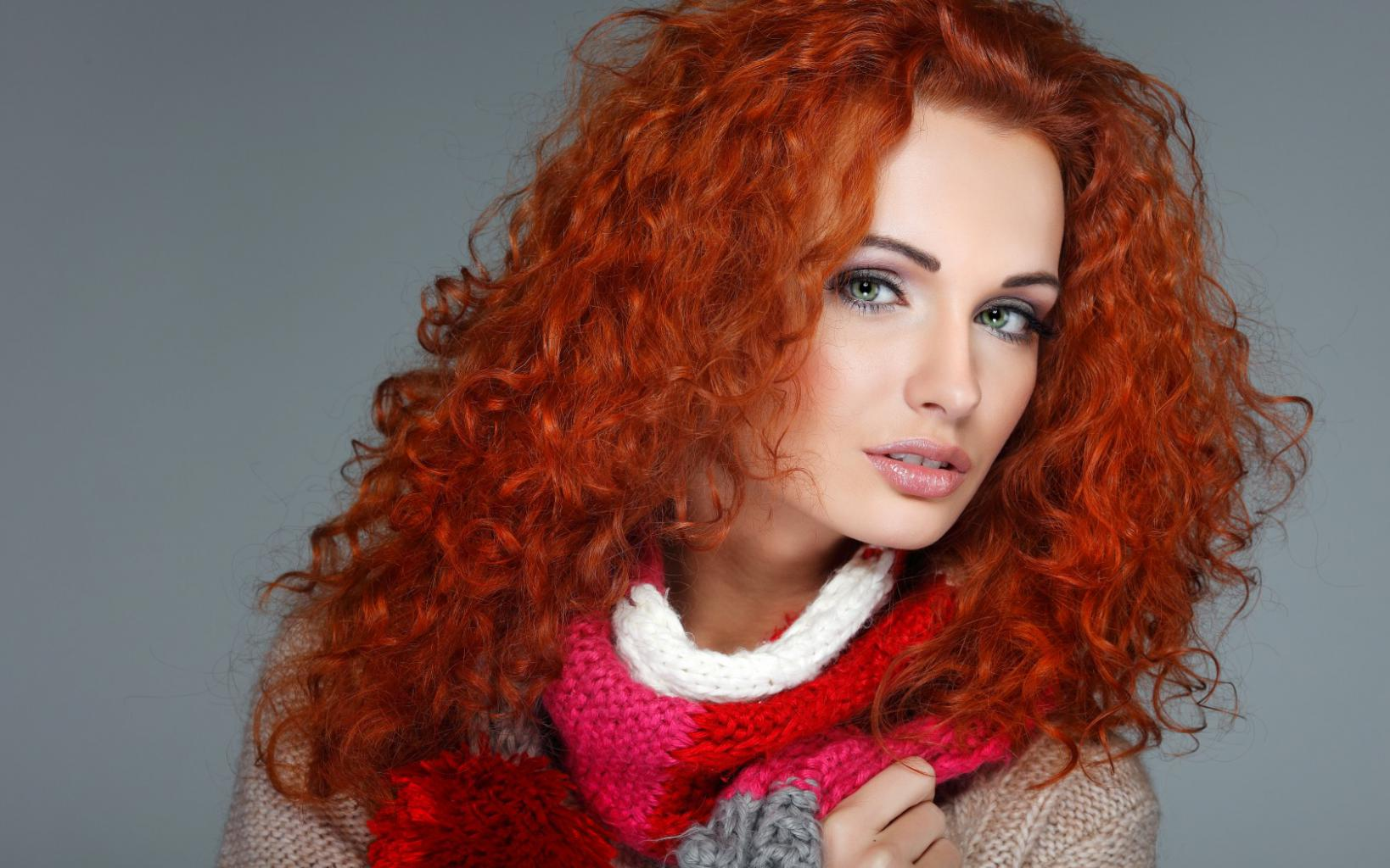 Рыжие девушки с косичками 5 фотография