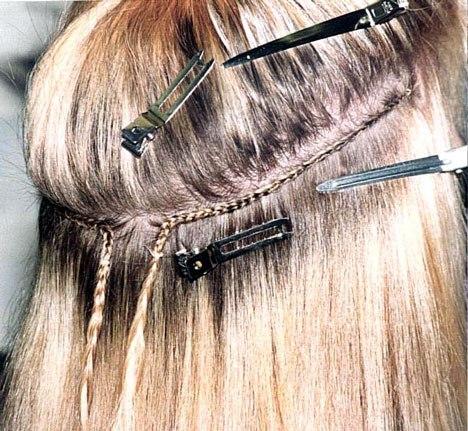 Как нарастить волосы себе самой
