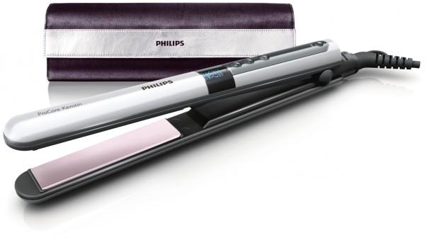 Выбирая, какой выпрямитель для волос лучше, обратите внимание на модель Philips HP8361 с тефлоновым покрытием