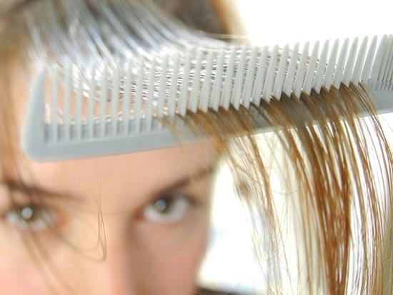 Если сыпится волосы