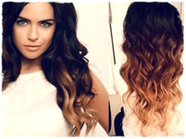 Шатуш на волосы средней длины волос