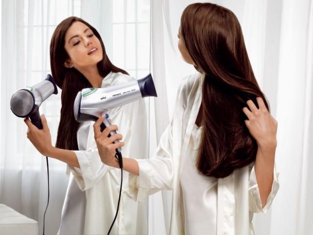 Как высушить волосы чтобы они были прямыми без фена