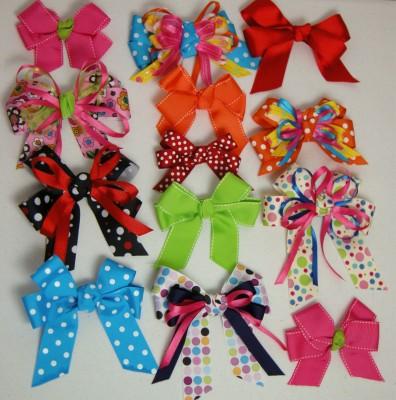 Яркие варианты украшений для волос для маленьких модниц