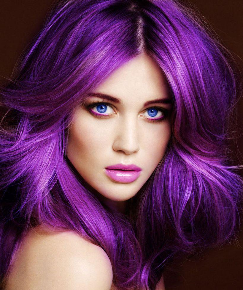Дерзкие цвета волос