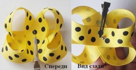 Зафиксируйте серединку с помощью иголки с ниткой, сделав несколько стежков.http://ejka.ru/uploads/images/9/9/5/9/112/f6eae3ae49.jpg