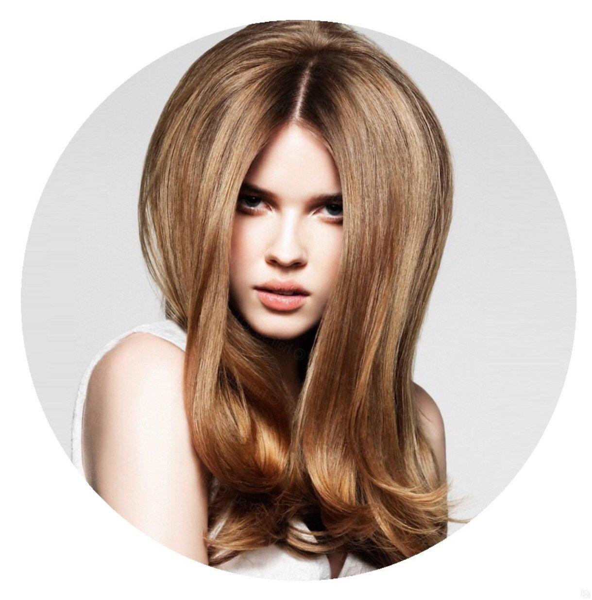 Химия на корни волос для объема