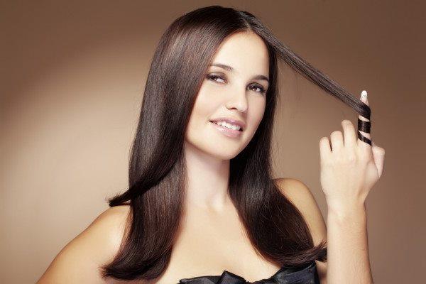 Как высушить волосы феном чтобы они были прямыми