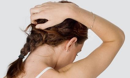 Осветление волос на масло