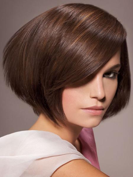 Укладки для коротких волос в домашних условиях с челкой