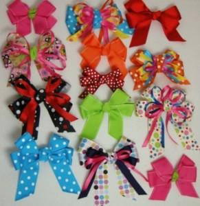 Яркие заколочки для маленьких принцесс