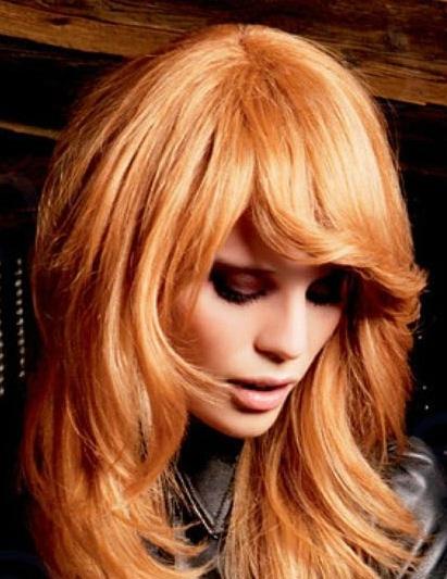 Как из рыжего цвета волос сделать темный 482