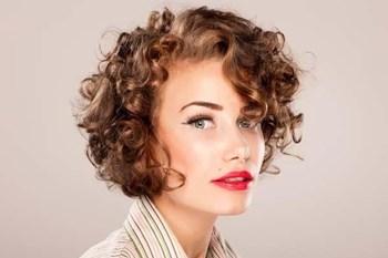 завивки фото на короткие волосы