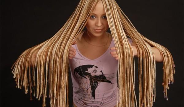 Африканские косички: модно, удобно, а главное - безвредно.